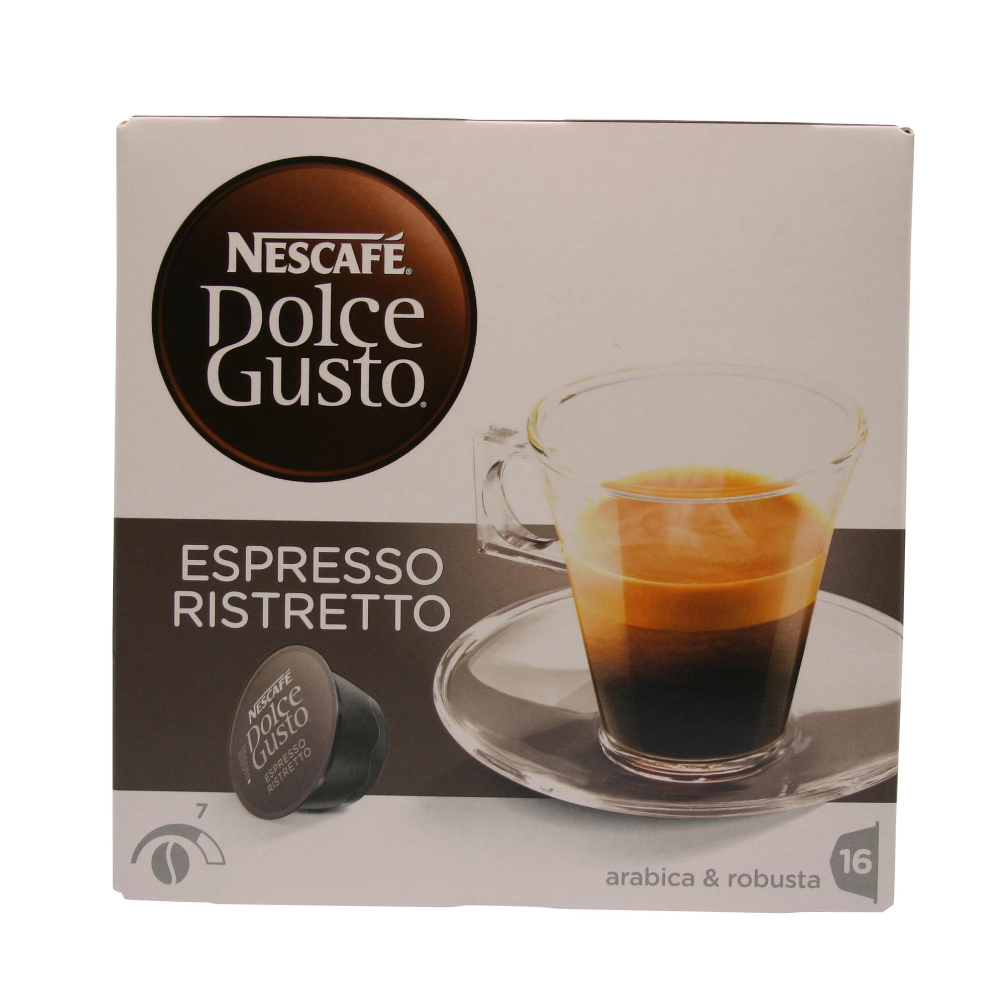 dolce gusto espresso ristretto