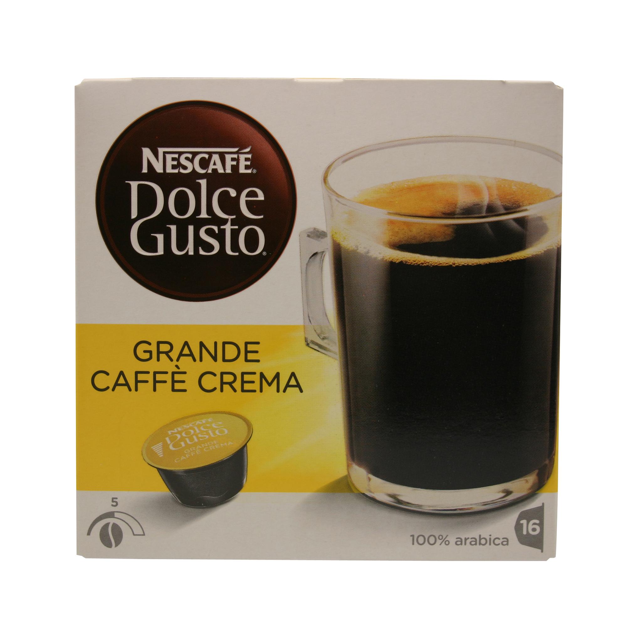 dolce gusto grande caffe crema