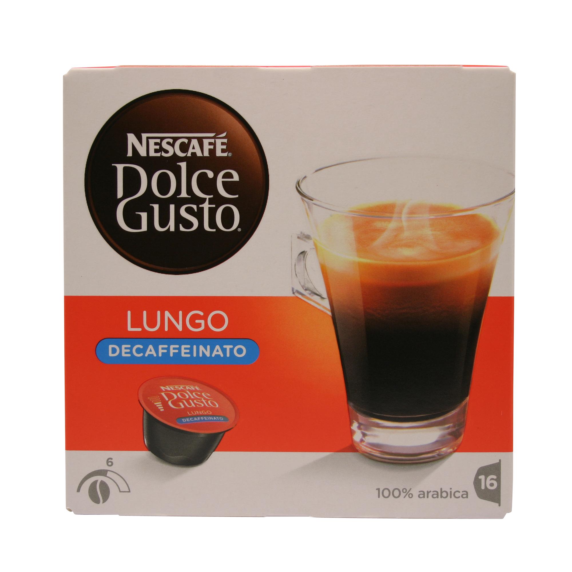 dolce gusto lungo decaffeinato