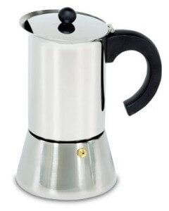 Espressokocher Edelstahl Krüger Deluxe 6