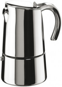Espressokocher Edelstahl Pintinox Bella