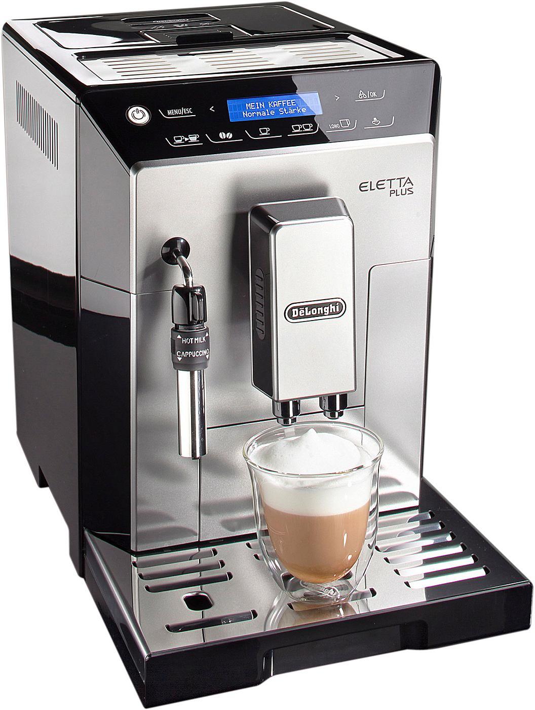 De´Longhi Kaffeevollautomat »Eletta Plus ECAM 45.326.S«