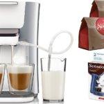 Philips SENSEO® System für Kaffeepads SENSEO® Latte Duo HD7857/20 - Pearl Silver