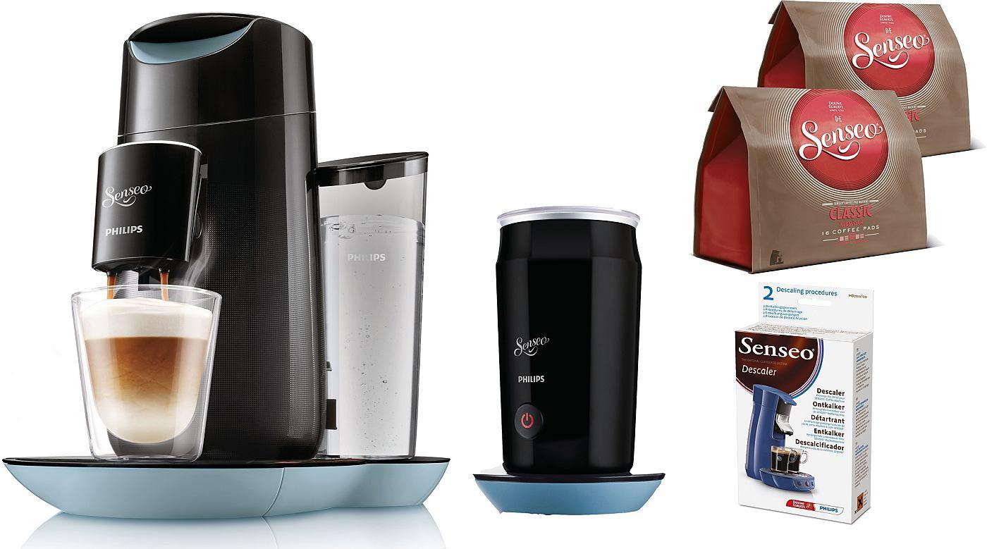 Philips SENSEO® System für Kaffeepads Senseo HD7874/60 Twist & Milk