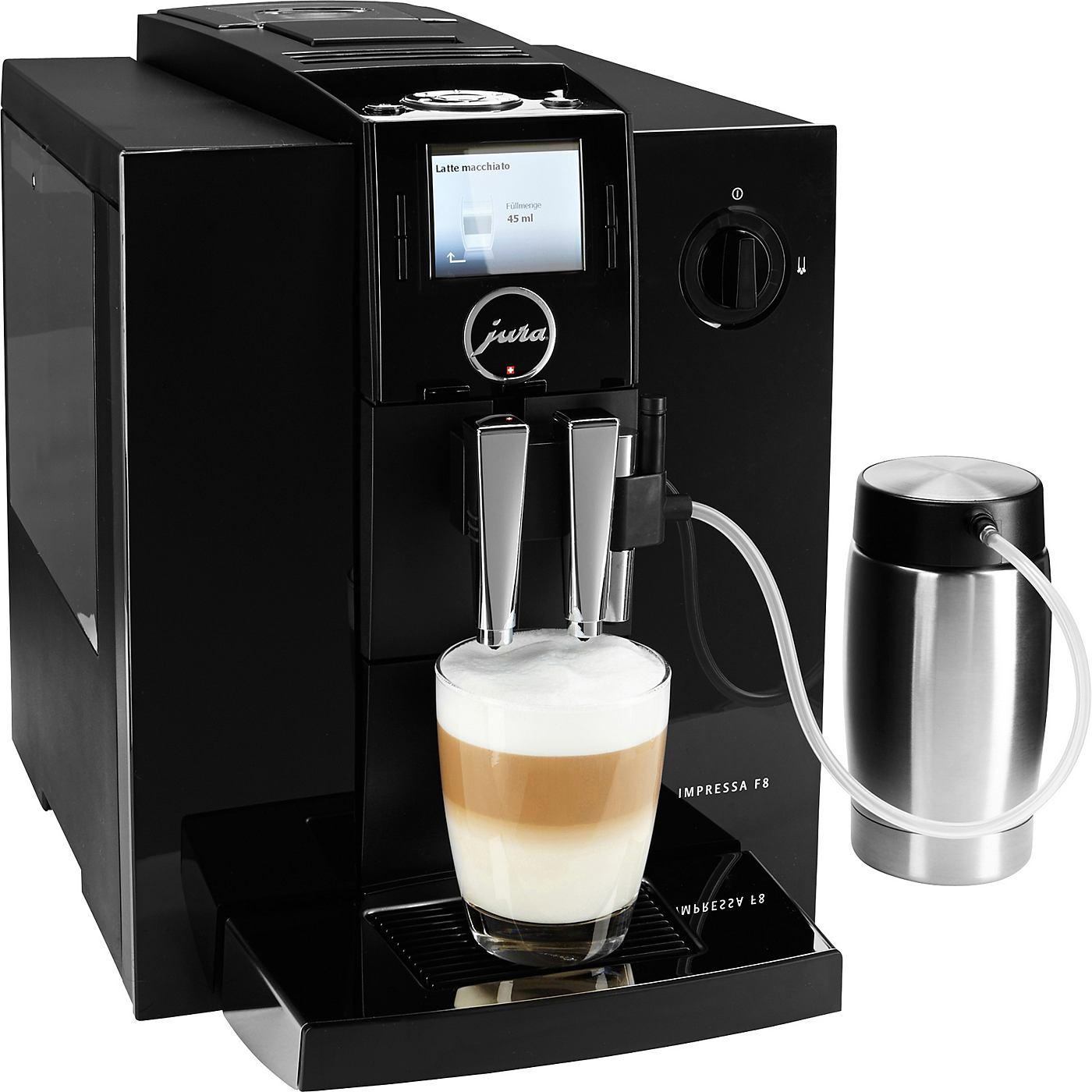 Jura Espresso-/Kaffee-Vollautomat IMPRESSA F8 TFT