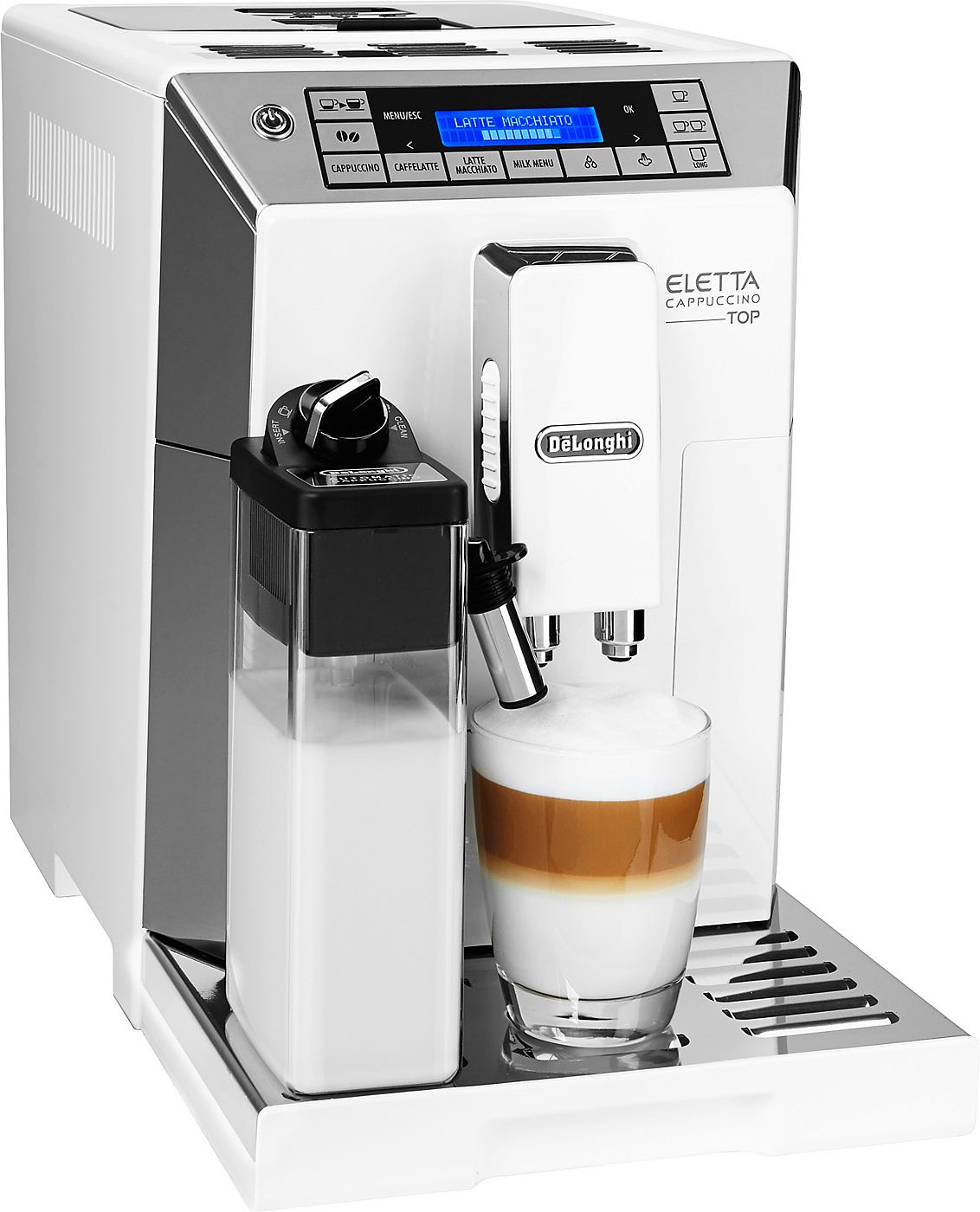 De´Longhi Kaffeevollautomat Eletta ECAM 45.366 W