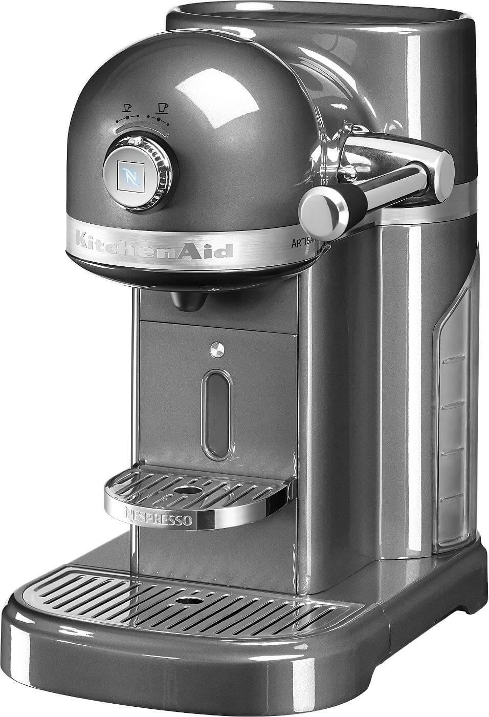 Kitchenaid Nespresso 5KES0503EMS/4 medallion silber