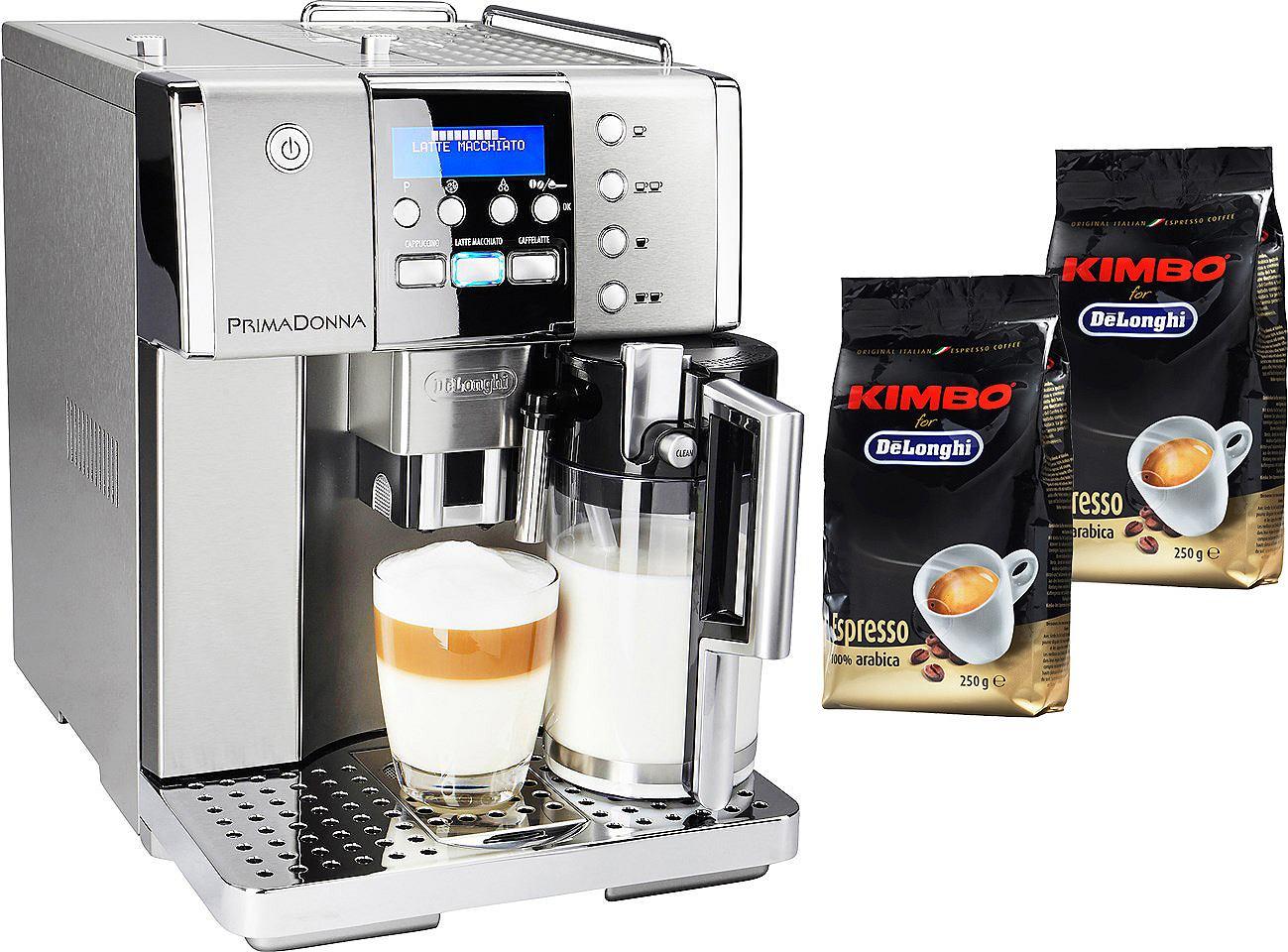 De´Longhi Kaffeevollautomat »Prima Donna ESAM 6620«