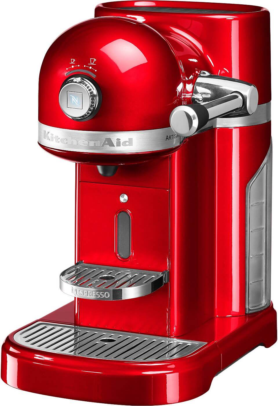 kitchenaid nespresso kitchenaid 5kes0503eer 4 empire rot 19 bar. Black Bedroom Furniture Sets. Home Design Ideas