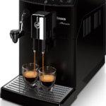Saeco Kaffeevollautomat HD8862/01 Minuto mit automatischem Milchaufschäumer
