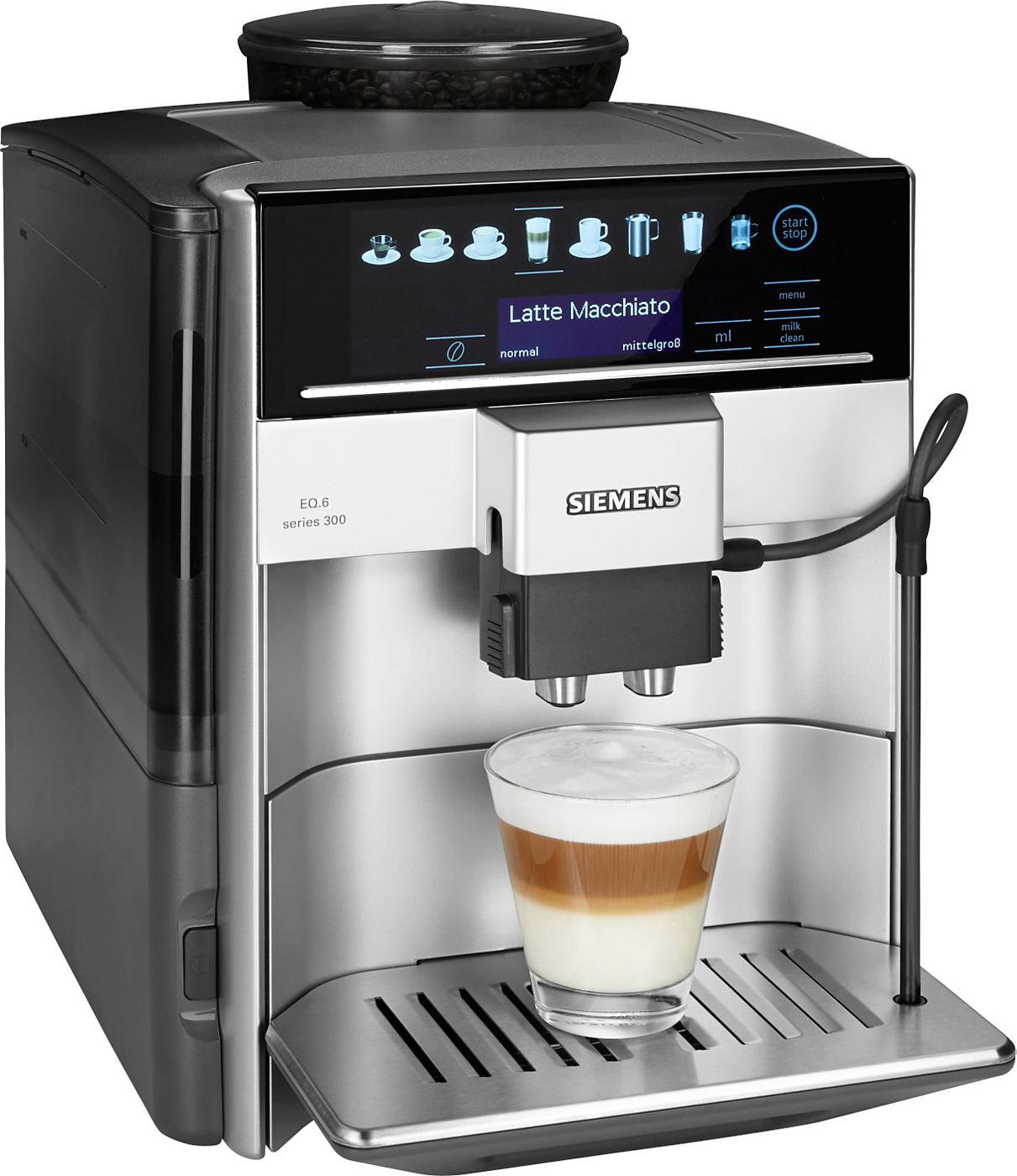 Siemens Kaffeevollautomat EQ.6 series 300 TE603501DE