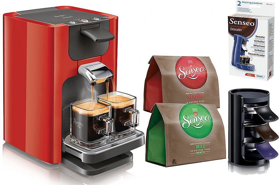 Philips SENSEO® System für Kaffeepads Quadrante HD7863/80