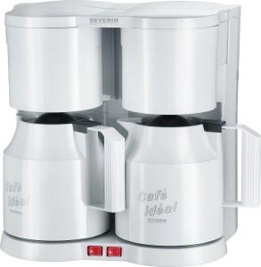 Severin Duo-Kaffeeautomat mit 2 Thermokannen KA 5827