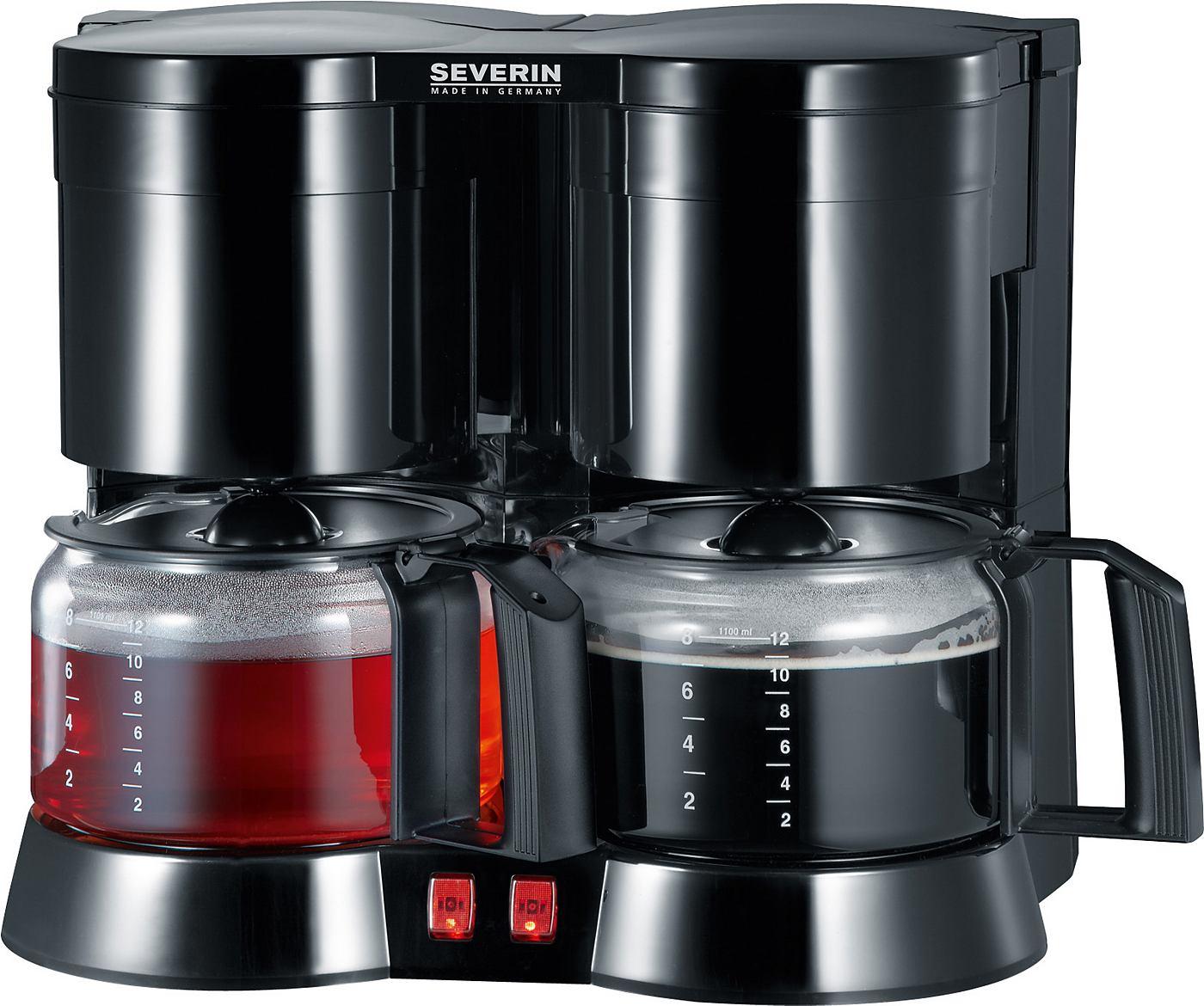 Severin Duo-Kaffeeautomat inkl. Teefilter KA 5802