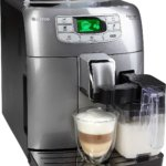 Saeco Kaffeevollautomat HD8753/71 Intelia Evo One Touch Cappuccino Silber