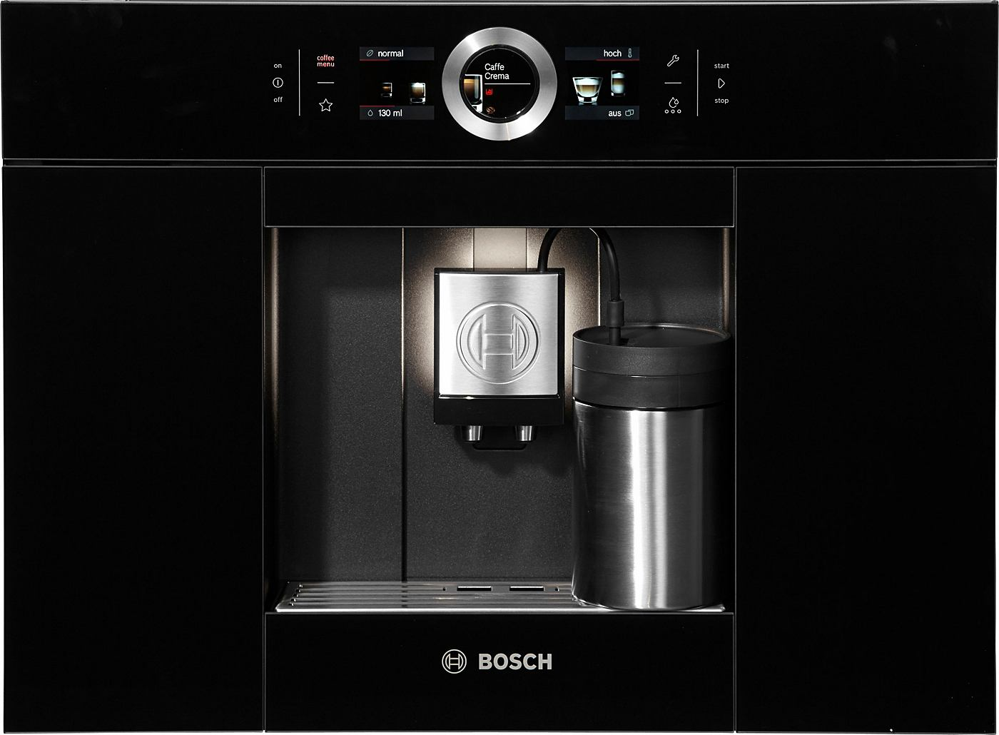 bosch einbau kaffeevollautomat ctl636eb1 integrierter milchtank. Black Bedroom Furniture Sets. Home Design Ideas