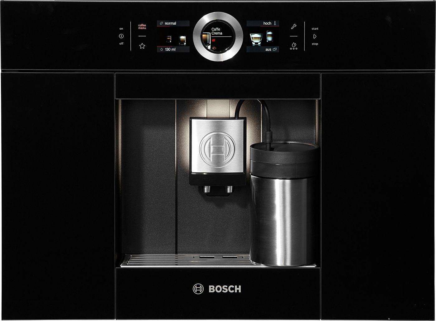 Einbau Kaffeevollautomat Test bosch einbau kaffeevollautomat ctl636eb1 integrierter milchtank