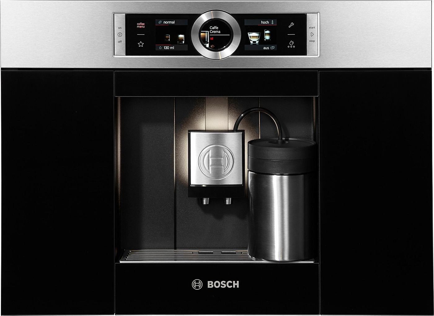 bosch einbau kaffeevollautomat ctl636es1 integrierter milchtank. Black Bedroom Furniture Sets. Home Design Ideas
