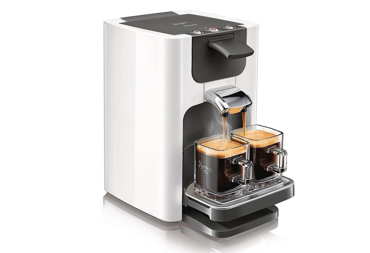 philips kaffeepadmaschine senseo quadrante hd7863 inkl gratis zubeh r im wert von 38. Black Bedroom Furniture Sets. Home Design Ideas