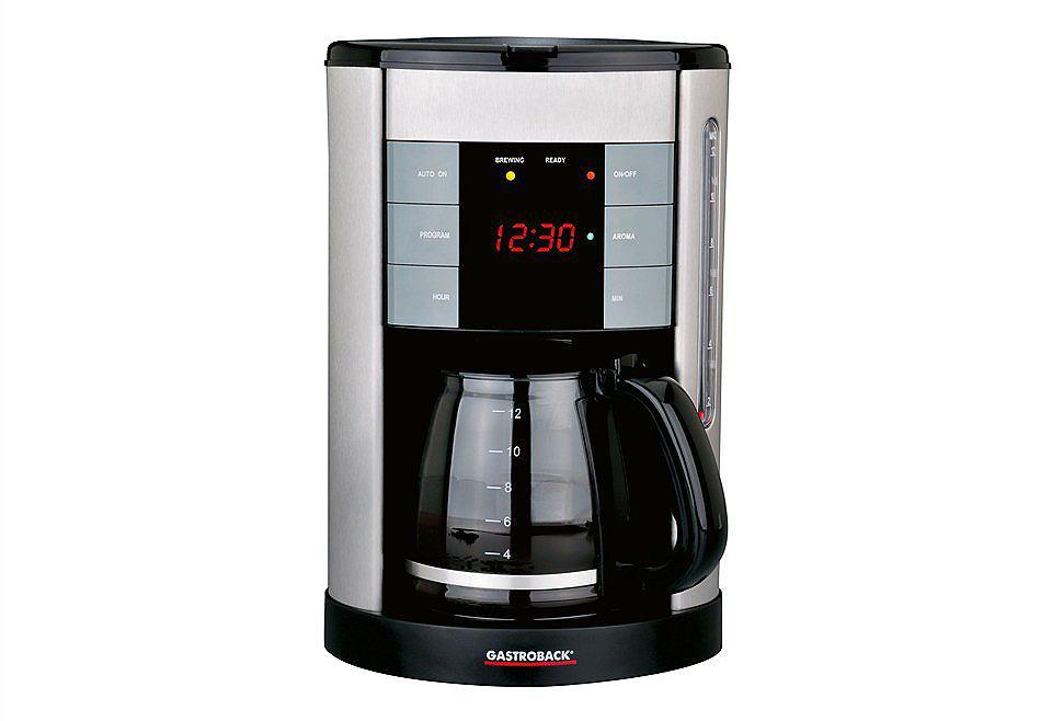 Gastroback Kaffeemaschine Design Coffee Aroma Plus
