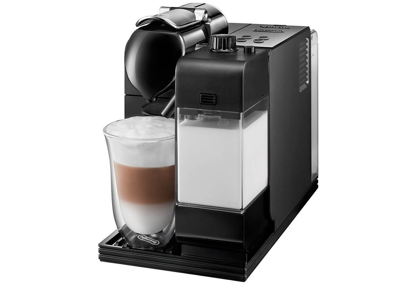 De´Longhi NESPRESSO Kapselmaschine »Lattissima+ EN 520.B« mit integriertem Milchaufschäumer
