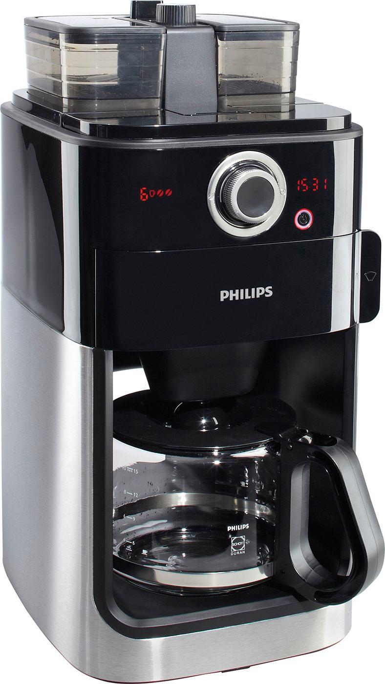 philips kaffeeautomat grind brew hd7762 00 edelstahl. Black Bedroom Furniture Sets. Home Design Ideas
