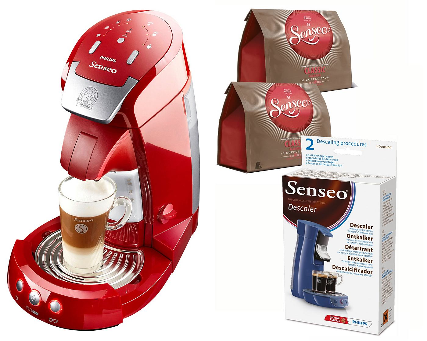 Philips Kaffeepadmaschine «Senseo® Latte Select HD7854»