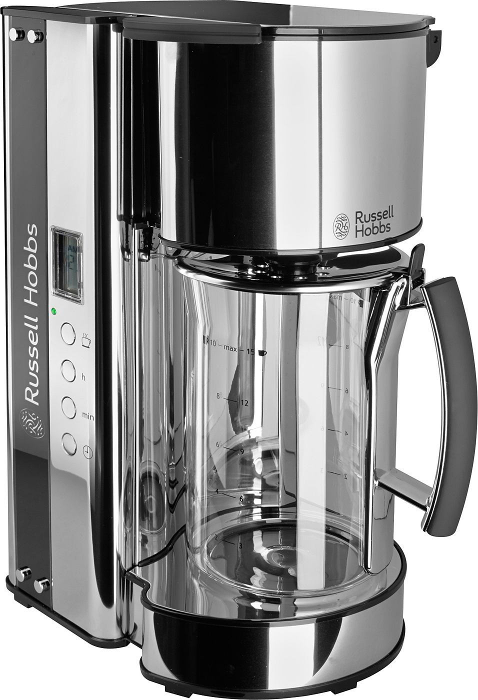 russell hobbs glas kaffeemaschine black glass 19650 56 1090 watt. Black Bedroom Furniture Sets. Home Design Ideas