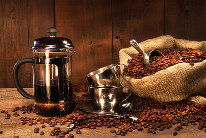 French Press Kaffee